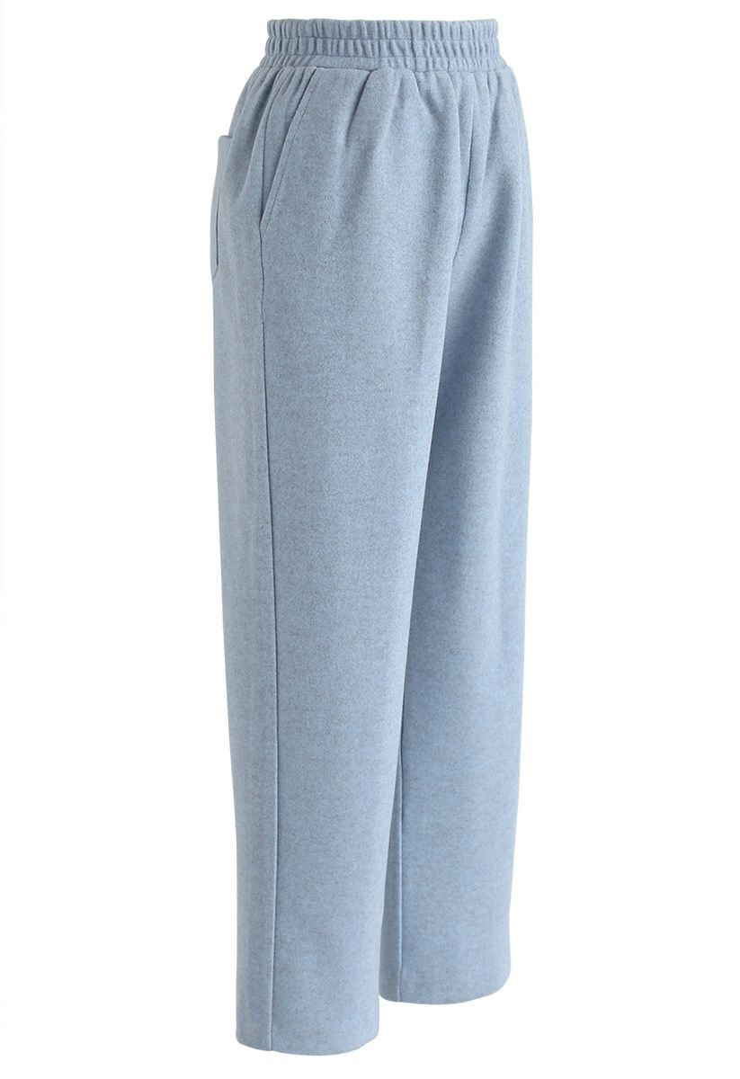 Keep It Casual Cropped Pants in Blue