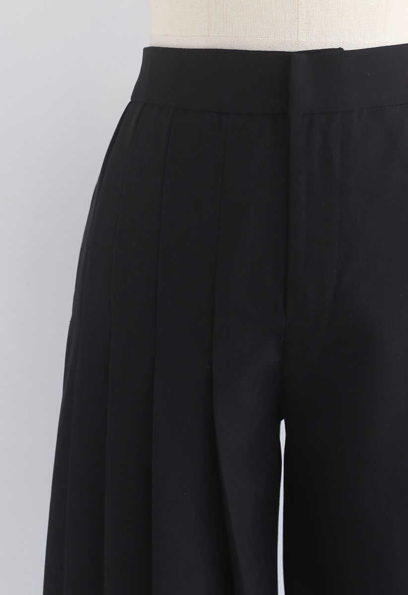 Mood Swings Wide-Leg Pants in Black