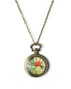 Big Ben Watch Pendant Necklace