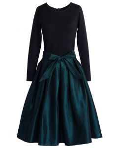 Dancer in the Dark Pleated Prom Dress