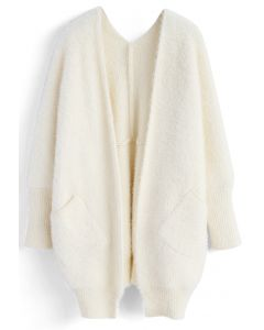 Comfy in Fascination Cardigan in White