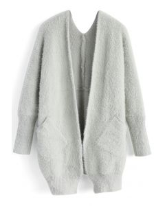 Comfy in Fascination Cardigan in Grey