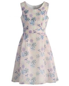 Cherry Blossom Love Organza Dress