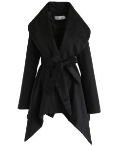 Prairie Rabato Coat in Black
