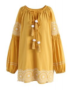 Sunshine Memory Boho Dolly Tunic