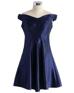 Royal Beauty Flare Dress